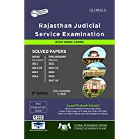Rajasthan Judicial Services Examination SOLVED PAPERS ( PRE + MAINS) 2017-18 ED (english med)