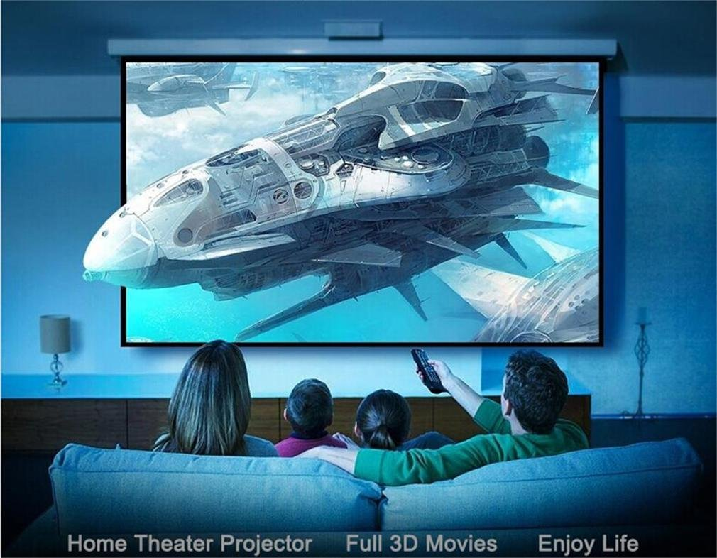 Amazon.com: Deeirao Android5.1 DLP Home Theater Projector Mini 3D 4K ...