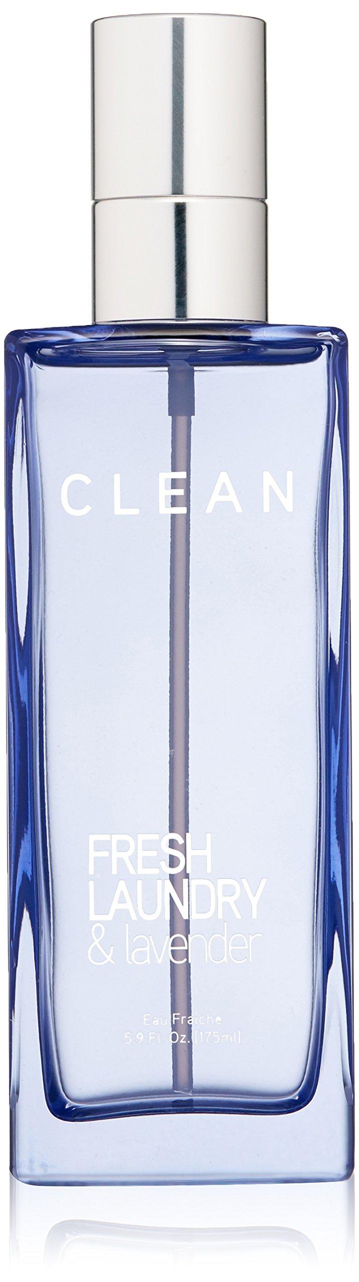 CLEAN Eau Fraiche Body Spray, Fresh Laundry/Lavender, 5.9 oz.