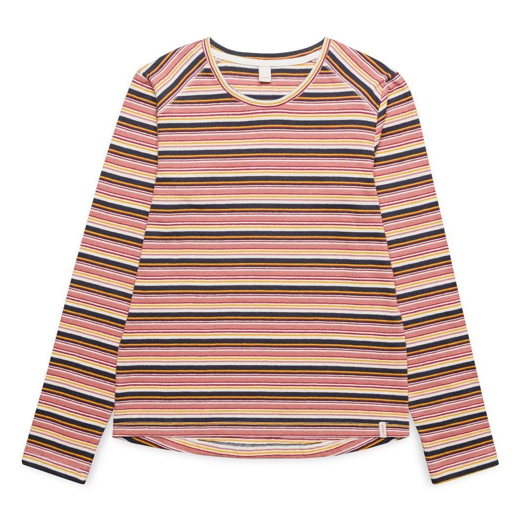 ESPRIT T-Shirt LS STRI, Maglia a Maniche Lunghe Bambina Esprit Kids RM1033510