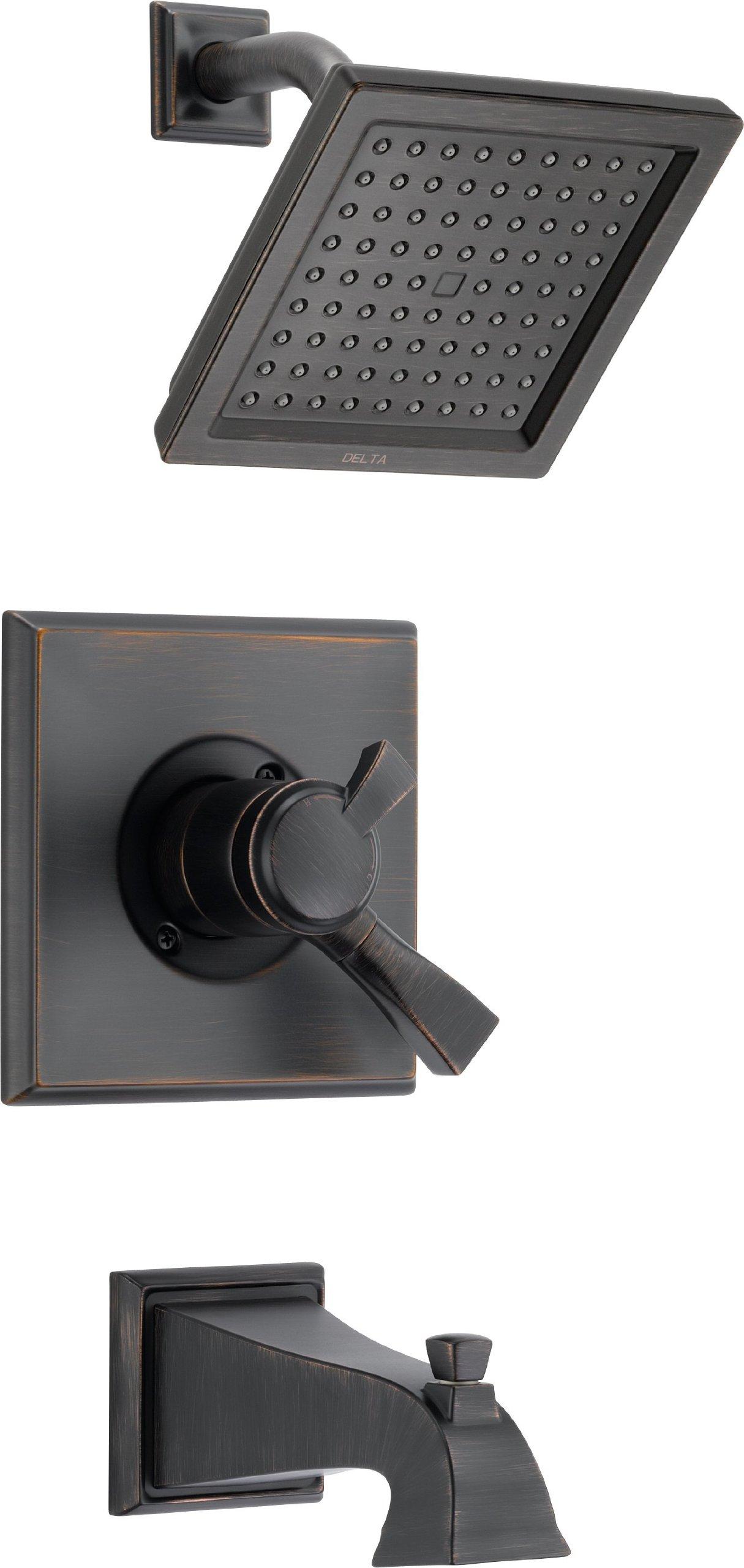 Delta T17451-RB Dryden Monitor 17 Series Tub and Shower Trim, Venetian Bronze