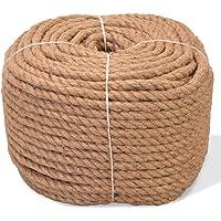 vidaXL Cuerda de Yute Barco 6 mm 500