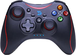 ZD-N+[2.4G] Wireless Gaming Controller for Steam,Nintendo Switch,PC(Win7-Win10),Android Tablet,TV Box (red)