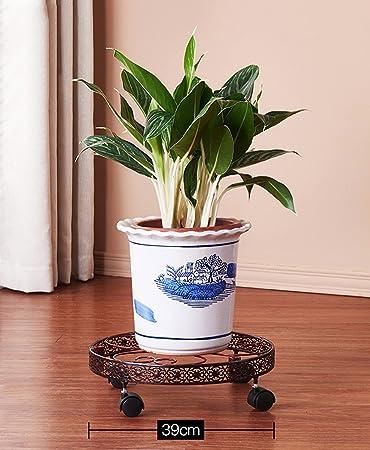 HZA Eisen Fliesen Deko Blumen Balkon Mit Potes Rahmen Rund Blüten Blumen  Orchideen Leiter Innenraum Der