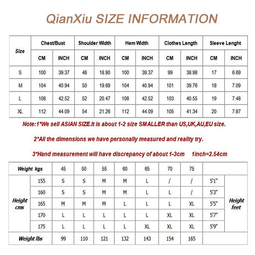 a45b40b20b01e3 QianXiu Damen Nachtwäsche Bequem Gestrickte Baumwolle Nachthemd Startseite  Bekleidung: Amazon.de: Bekleidung