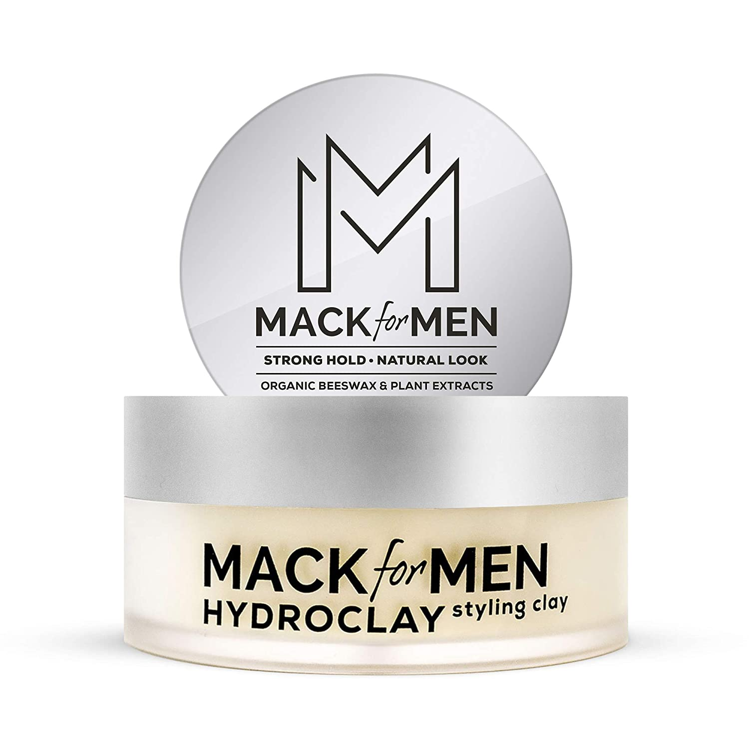 Amazon Com Hydroclay Premium Hair Clay For Men Styling Clay With Organic Beeswax For Hair Plant Based Clay For Hair Natural Look 2 5 Oz Mack For Men Beauty