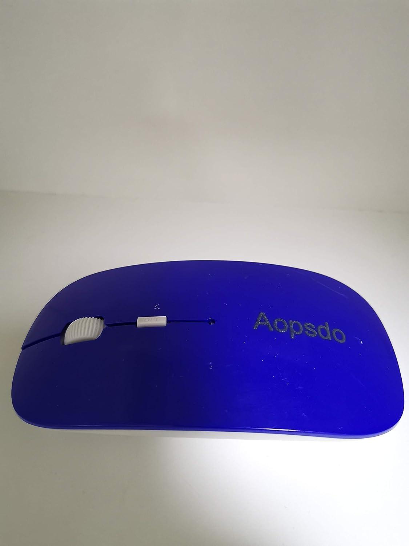 Aopsdo Nano Receiver Less Noise Portable Mobile Optical Mice for Notebook PC Laptop Computer Slim Wireless Mous Slim Wireless Mous