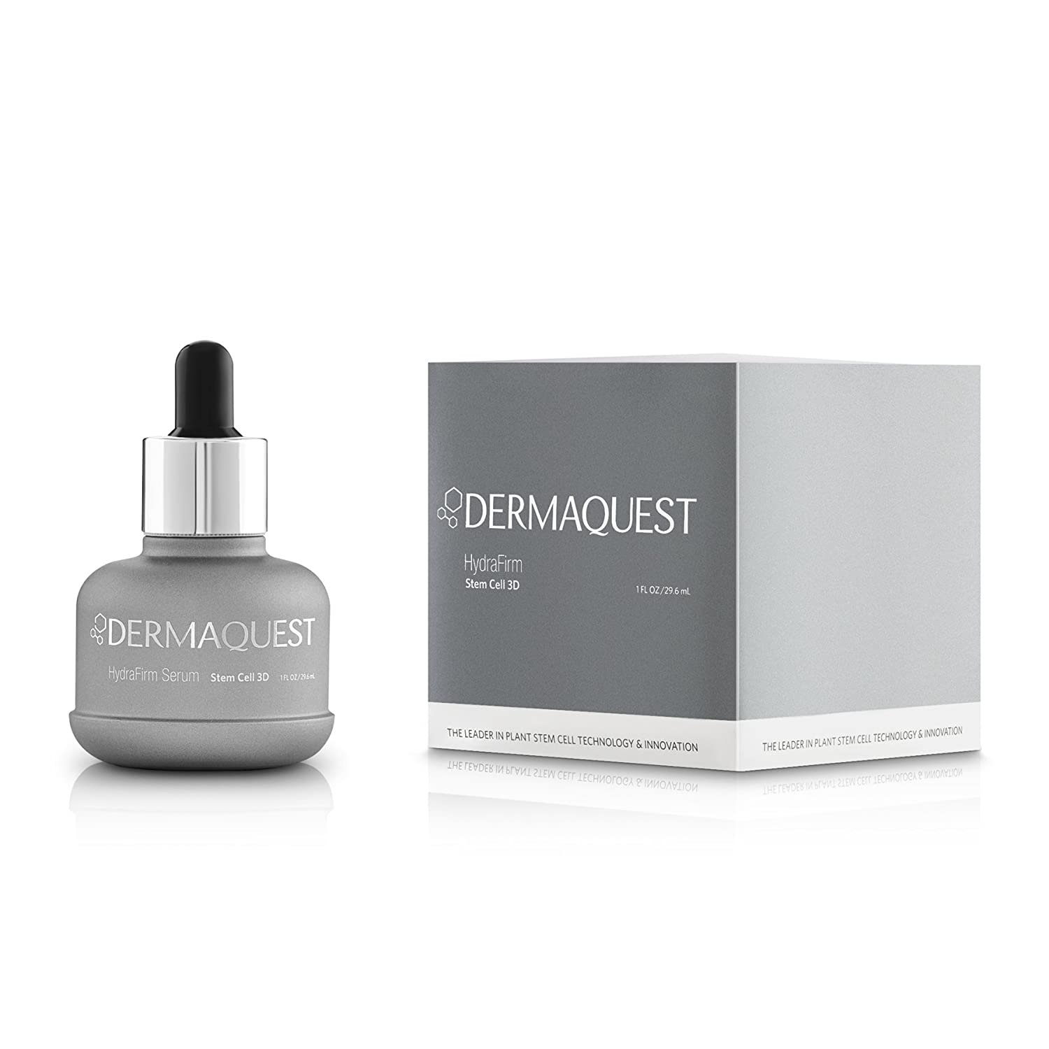 2995dac5ce742e Amazon.com: DermaQuest Stem Cell 3D HydraFirm Anti-Aging Serum - Fine Lines  and Wrinkles Reducer, 1 fl. oz.: Beauty