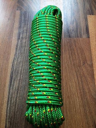 Segeltauwerk 6mm,30m,Seile Rot Nr.1 Polypropylenseil Tauwerk,Bootstau,Leine