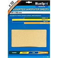 Blue Spot 19850 diverse schuurpapier (30 stuks)
