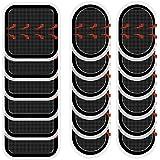 Coomatec スレンダートーン対応 EMS互換交換パッド FDA認証済み スレンダートーン 交換パッド3枚*6セット (正面用 6枚 + 脇腹用12枚)