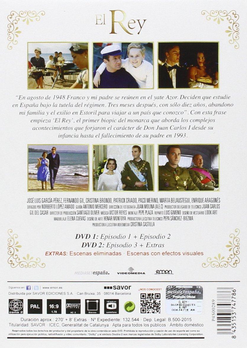 El Rey (Miniserie) [DVD]: Amazon.es: José Luis García-Pérez, Cristina Brondo, Marta Belaustegui, Norberto López Amado, José Luis García-Pérez, Cristina Brondo, Norberto López Amado: Cine y Series TV