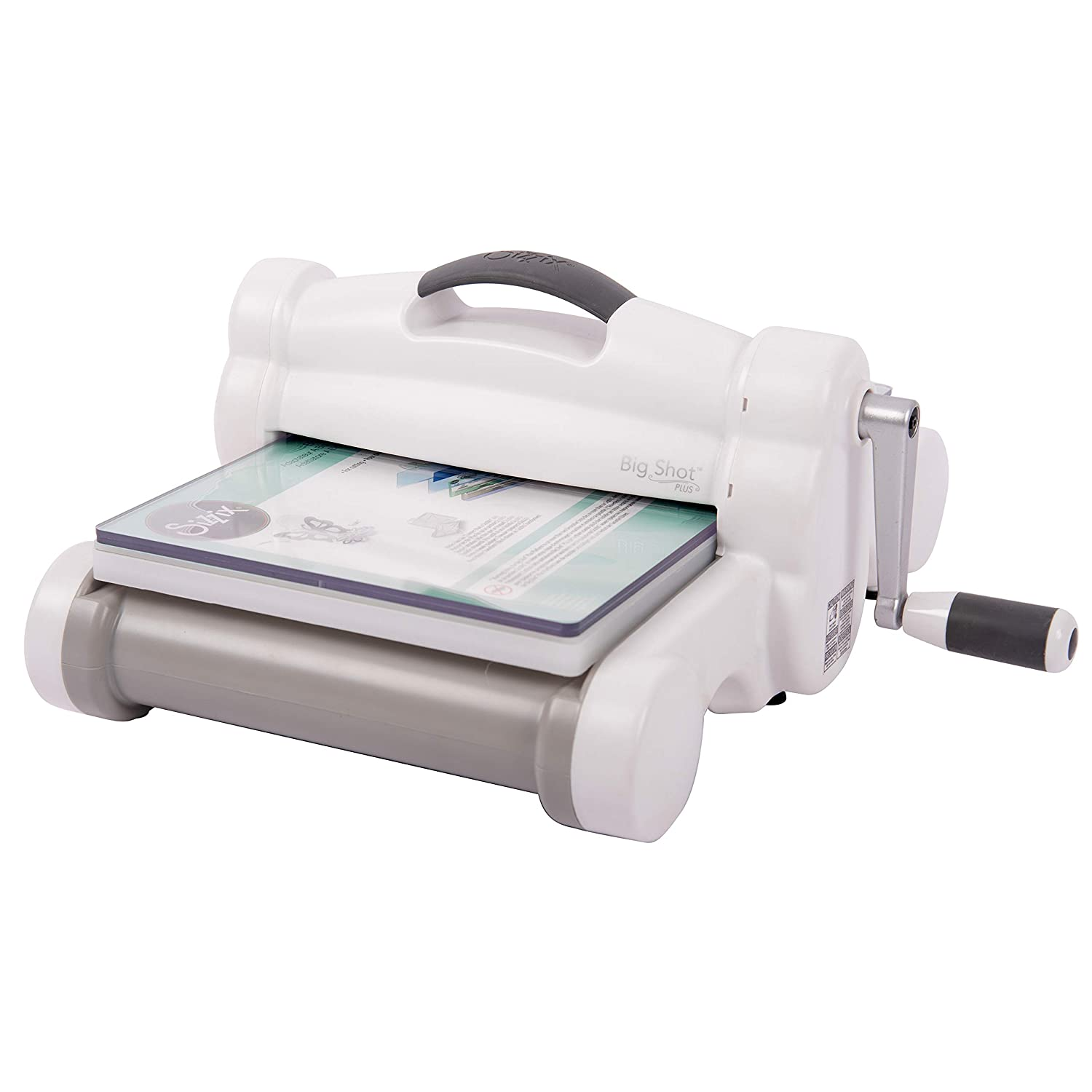 Sizzix Big Shot Plus 660340 Manual Die Cutting and Embossing Machine, 9 in (21 cm) Opening