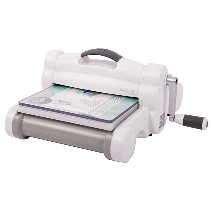 Sizzix Big Shot Plus Manual Die Cutting and Embossing Machine, 9 in (21 cm)  Opening,