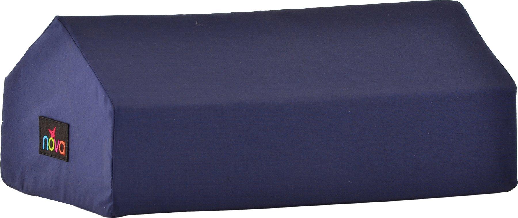 NOVA Medical Products Elevating Knee Wedge, Blue, 1.25 Pound