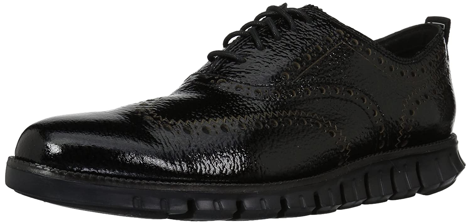 Black Bubble Patent Black Cole Haan Men's Zerogrand OX Outlet Excl Closed II Oxford