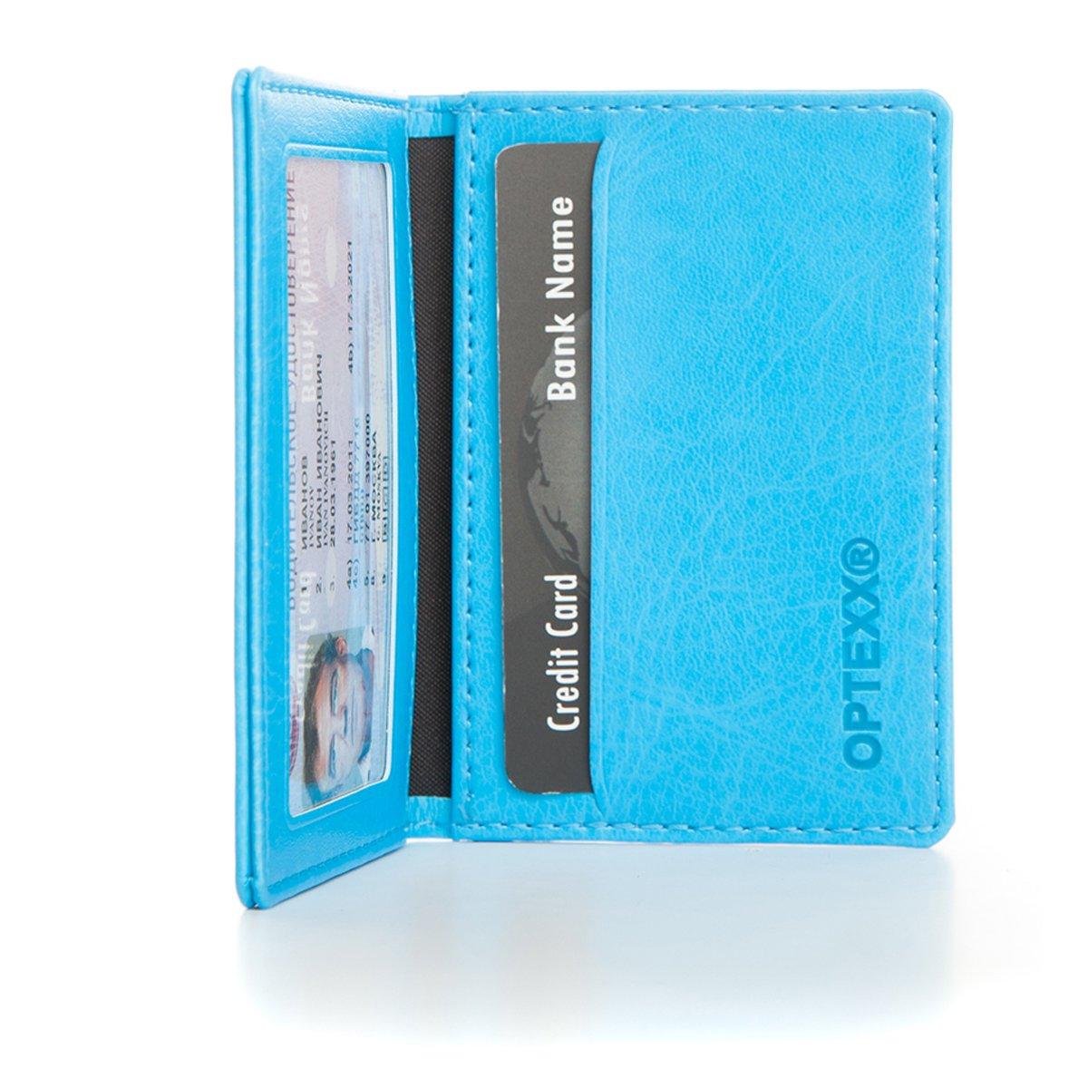 OPTEXX W5052015 RFID - Porta tessere personale da uomo/donna, con protezione certificata TÜV OPTEXX GmbH