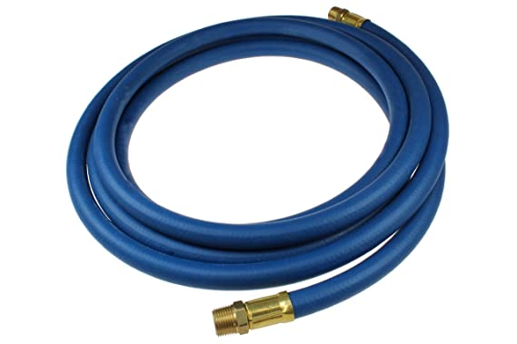 3//8-Inch MPT Fitting 3//8-Inch ID Coilhose Pneumatics R38050N Heavy Duty Multi Purpose Hose 50-Foot Length