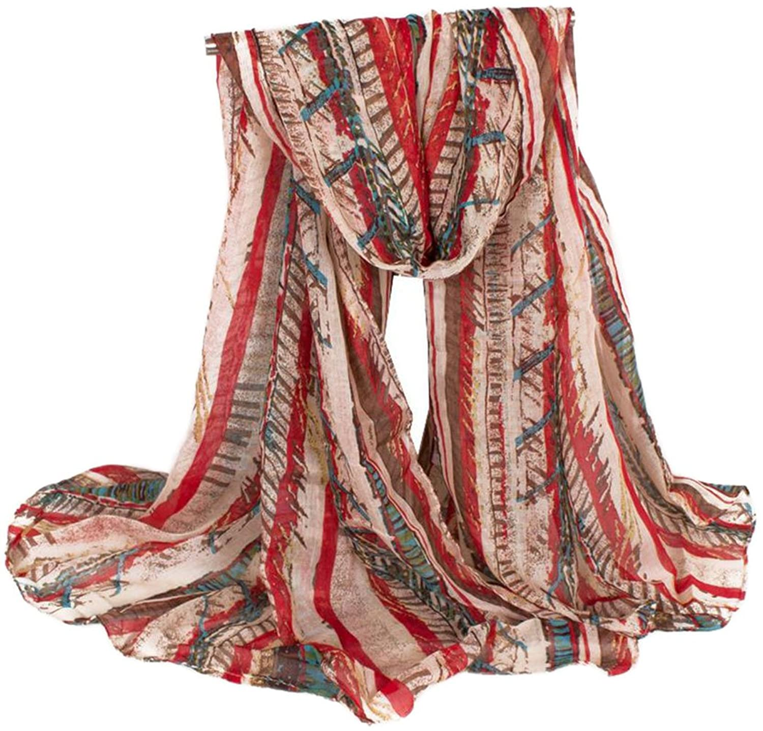 Bettyhome Sexy Lady Voile Bohemian Style Women's Large Scarf Shawl Lightweight
