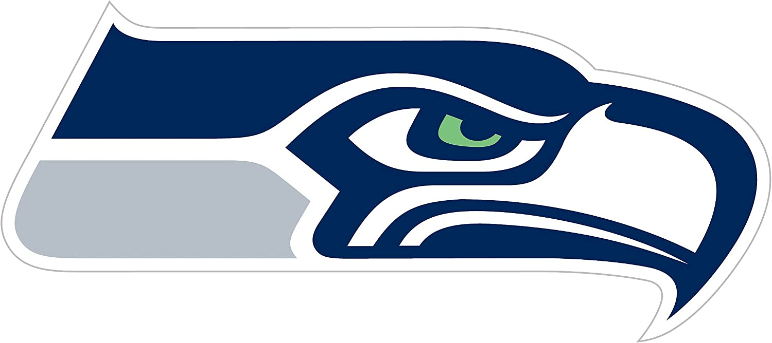 Amazon.com : NFL Siskiyou Sports Fan Shop Seattle Seahawks Logo Magnets 8 inch sheet Team Color : Sports & Outdoors