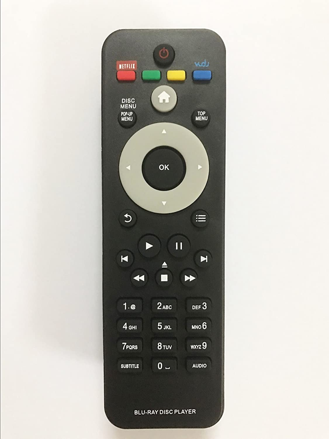 Replacement Remote Controller use for BDP2185BDP2185/F7BDP2285 BDP2285/F7 Philips DVD Blu-ray Player