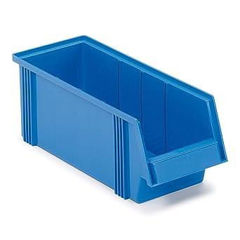 1950-6 - Caja de almacenaje (186 x 500 x 182 mm), color azul: Amazon.es: Industria, empresas y ciencia