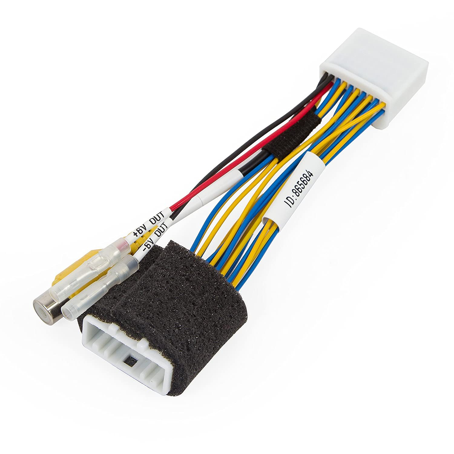 Rear View Camera Connection Cable For Toyota Auris 20 Pin Stereo Wiring Avensis Camry Corolla Prius Rav4 With Gen5 Gen6 Automotive