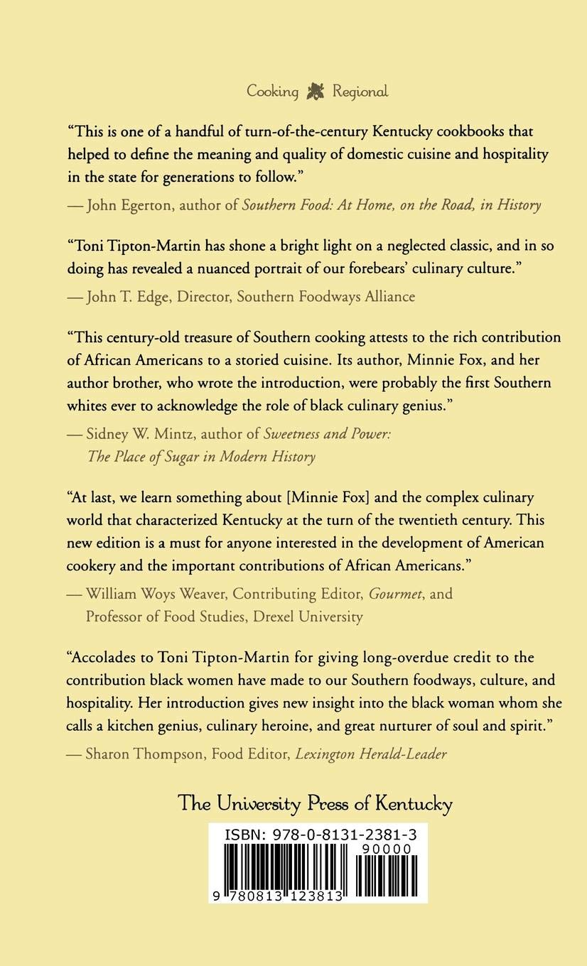 The Blue Grass Cook Book by Brand: The University Press of Kentucky (Image #2)
