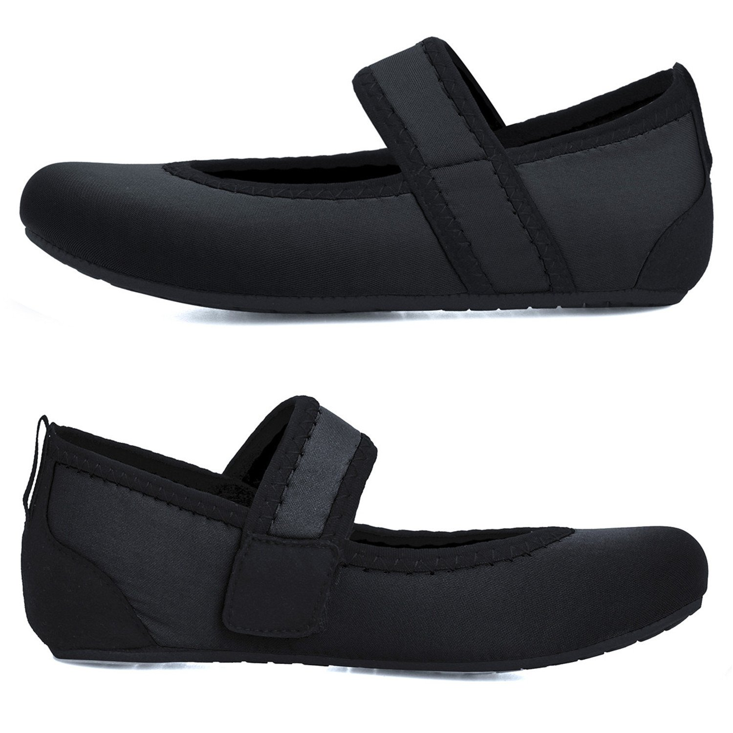 Centipede Demon Water Shoes Flexible Flats for Womens Traveling Flat Shoes Dark by Centipede Demon (Image #5)
