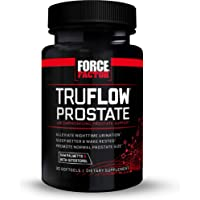 Force Factor TruFlow Prostate Health Support Supplement for Men with Beta Sitosterol, 30 Count