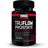Force Factor TruFlow Prostate Health Support with Beta-Sitosterol and Saw Palmetto...