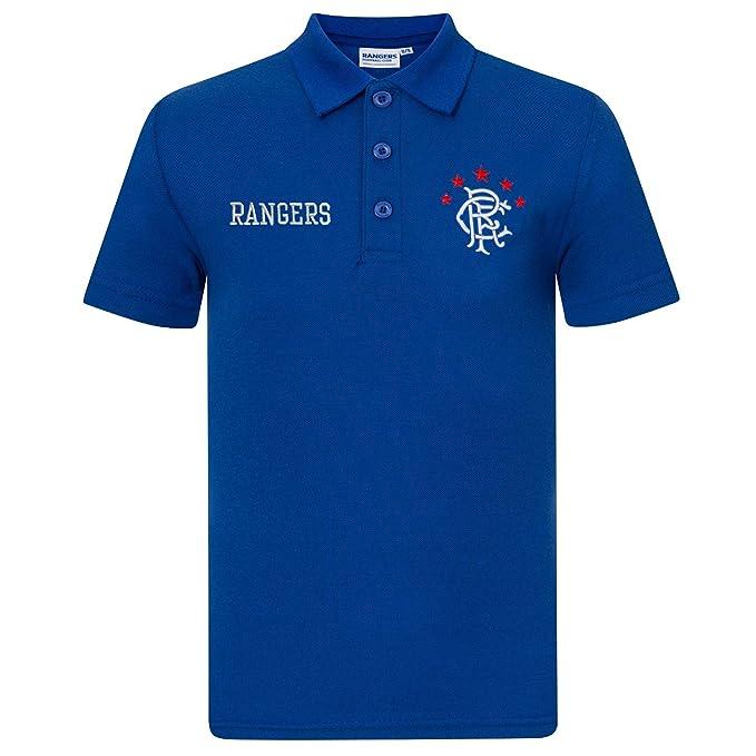 Rangers FC - Polo oficial para niño - Con el escudo del club ...