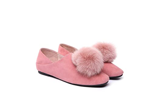 2a7edccac3d1a7 Image Unavailable. Ever Australia UGG Joyce Ladies Ballet Flats Loafer  Moccasins Fluffy ...