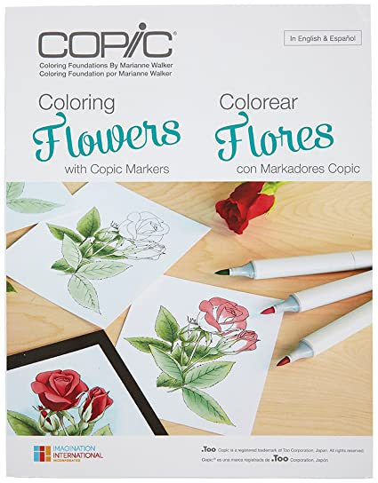 Copic Markers CB FLOWR Coloring Foundations