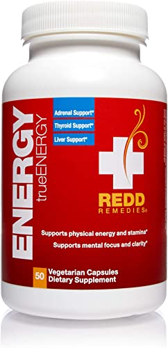 Redd Remedies – trueENERGY, Supports Energy Production and Stamina, 50 Count