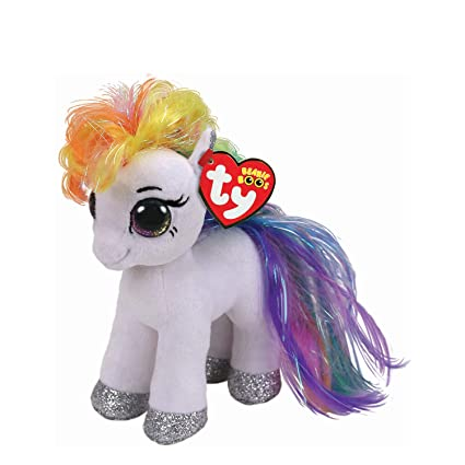 ee1973f09ec Image Unavailable. Image not available for. Color  Ty Beanies Claire s  Girl s Boo Small Starr The White Pony Plush Toy