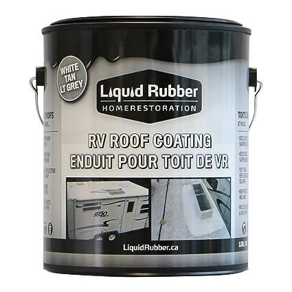 liquid rubber rv roof coatingsealant 1 gallon brilliant white solar reflective - Liquid Rubber Roof