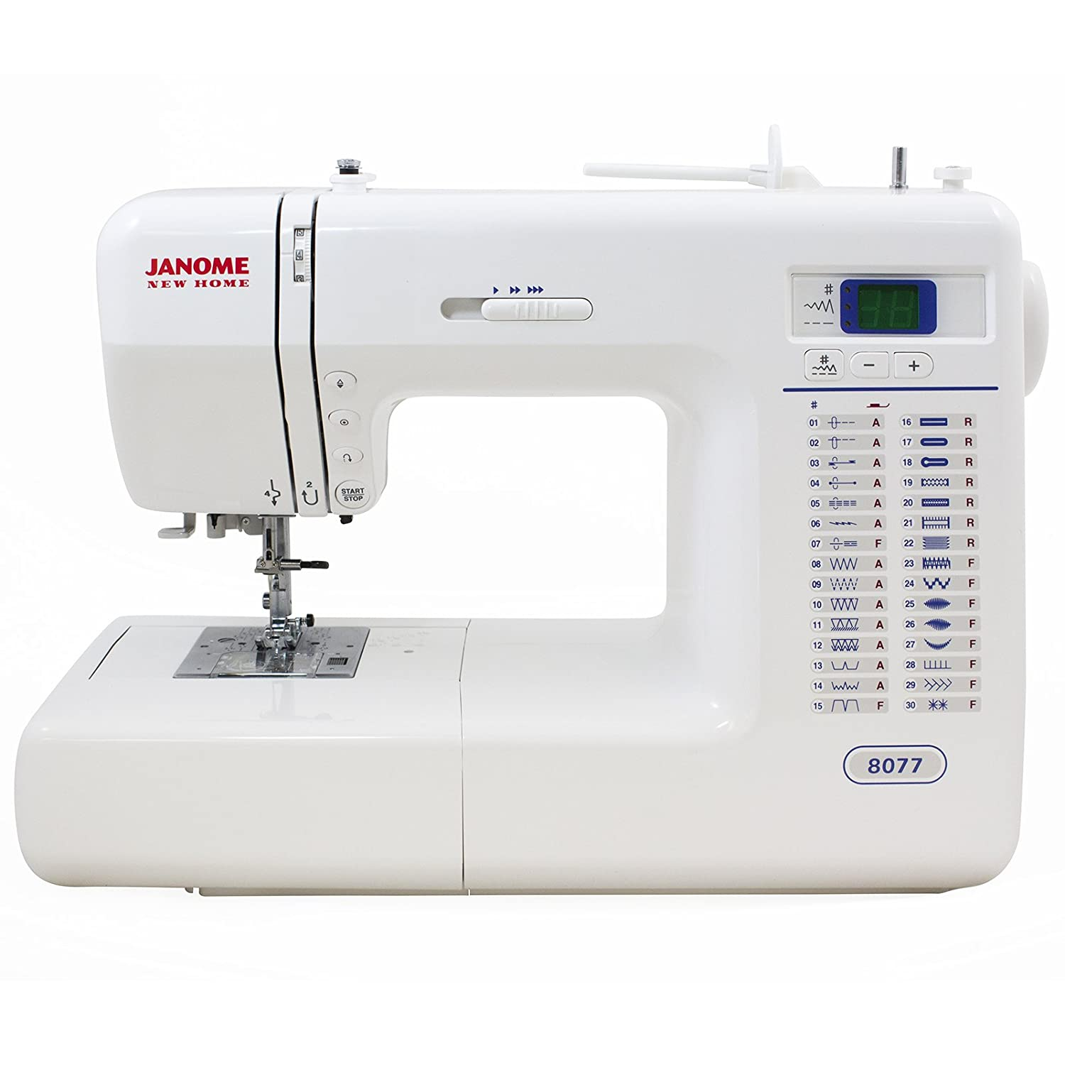 Janome 8077 Computerized Sewing Machine Reviews In 2019