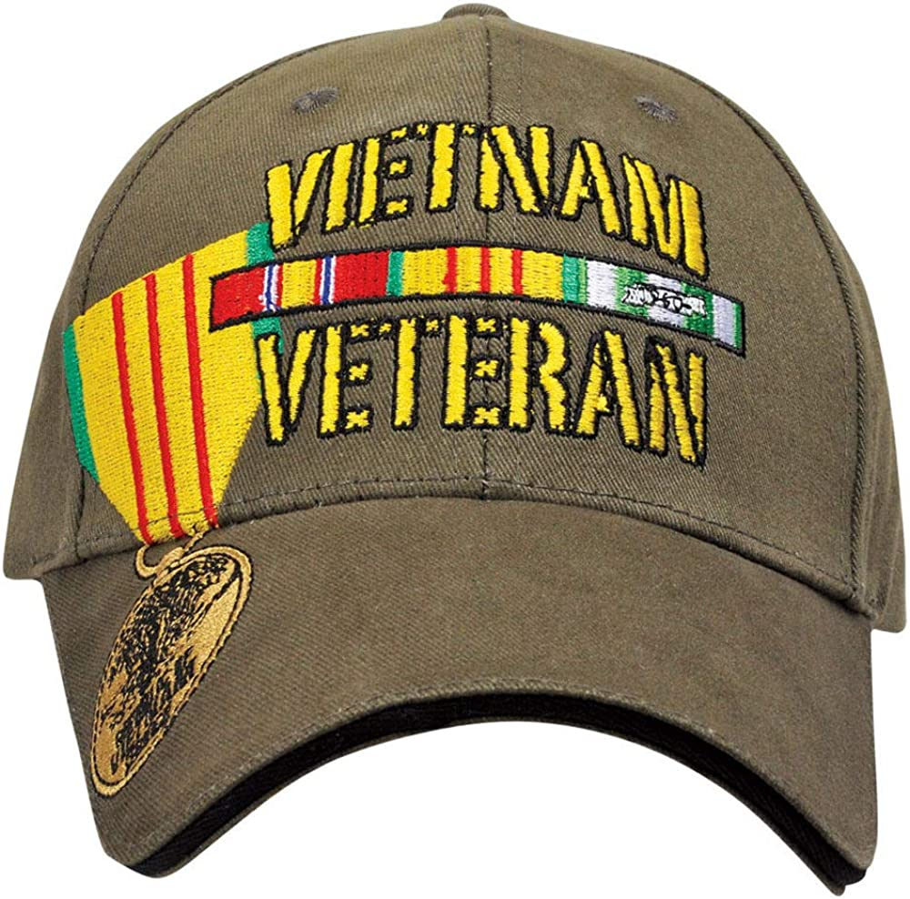 Medals of America Vietnam Veteran Medal Hat OD Green