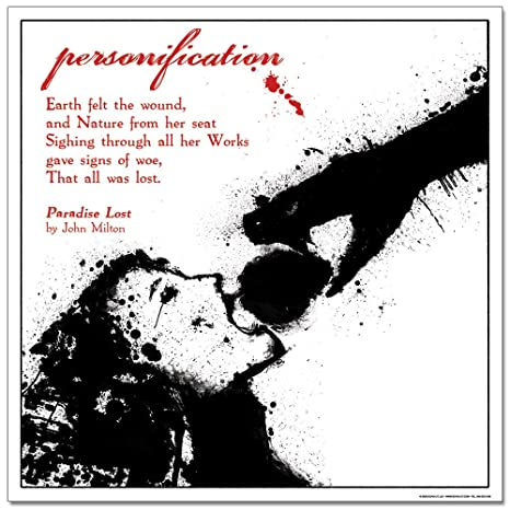 what is personification in literature