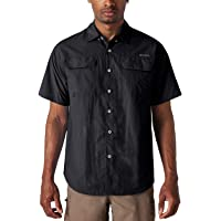 NAVISKIN Camisa Casual de Manga Corta Protección UV UPF 50 para Hombre Camiseta Deporte Térmica Pesca Acampada Campismo Senderismo Marcha Ligero Secado Rápido
