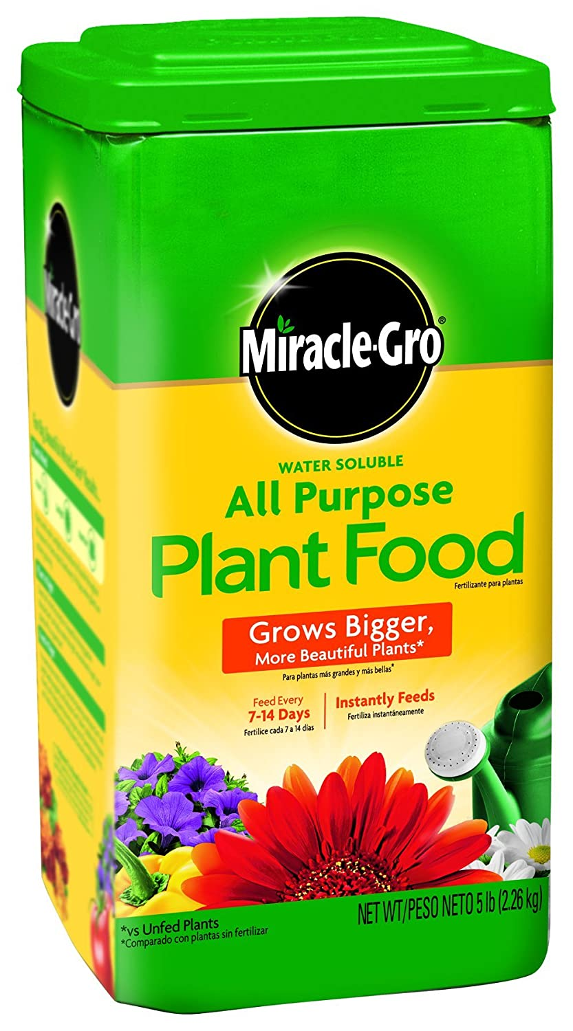 Miracle gro 1001233 all purpose plant food plant Miracle gro all purpose garden soil