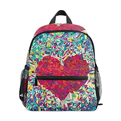 LORVIES Red Heart Shape Mini Kids Backpack Pre-School Kindergarten Toddler  Bag 2148517128