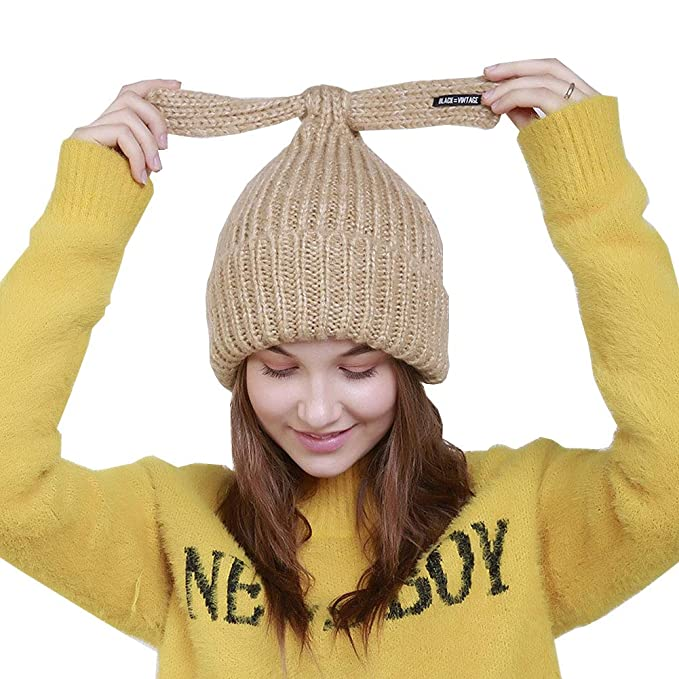 619e053ca2b KoolHour Winter Beanie Hat Warm Cable Knit Hat Thick Soft Stretch Slouchy  Beanie Skull Hat Ski