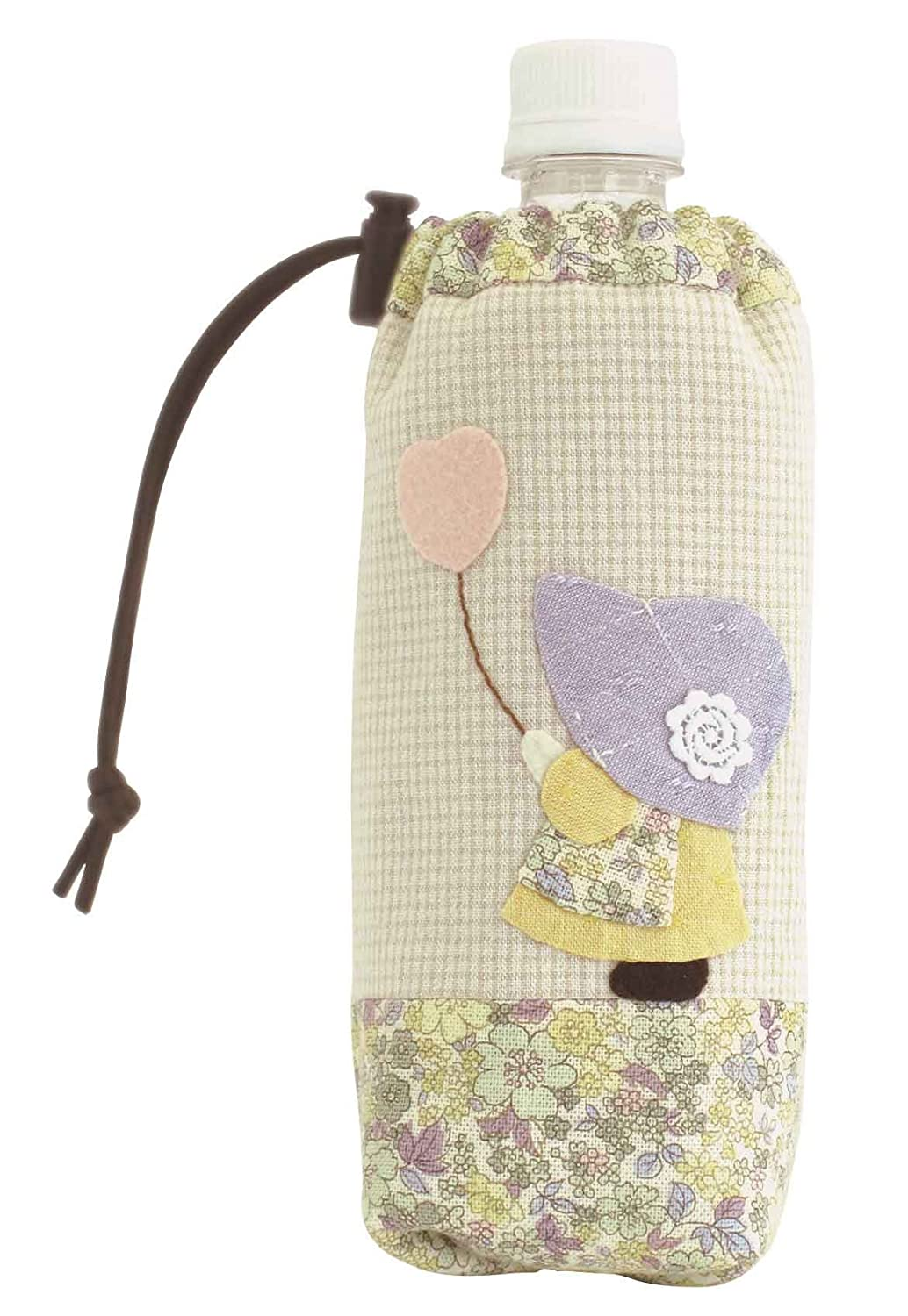 PA546 bottle case of balloons and heart Orimupasu made patchwork kit   Sue (japan import)