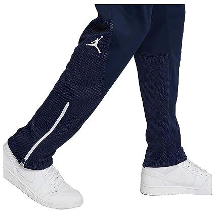 f3cc680124d Amazon.com : NIKE Jordan Men's Flight Team Basketball Pants-Navy-Medium :  Sports & Outdoors