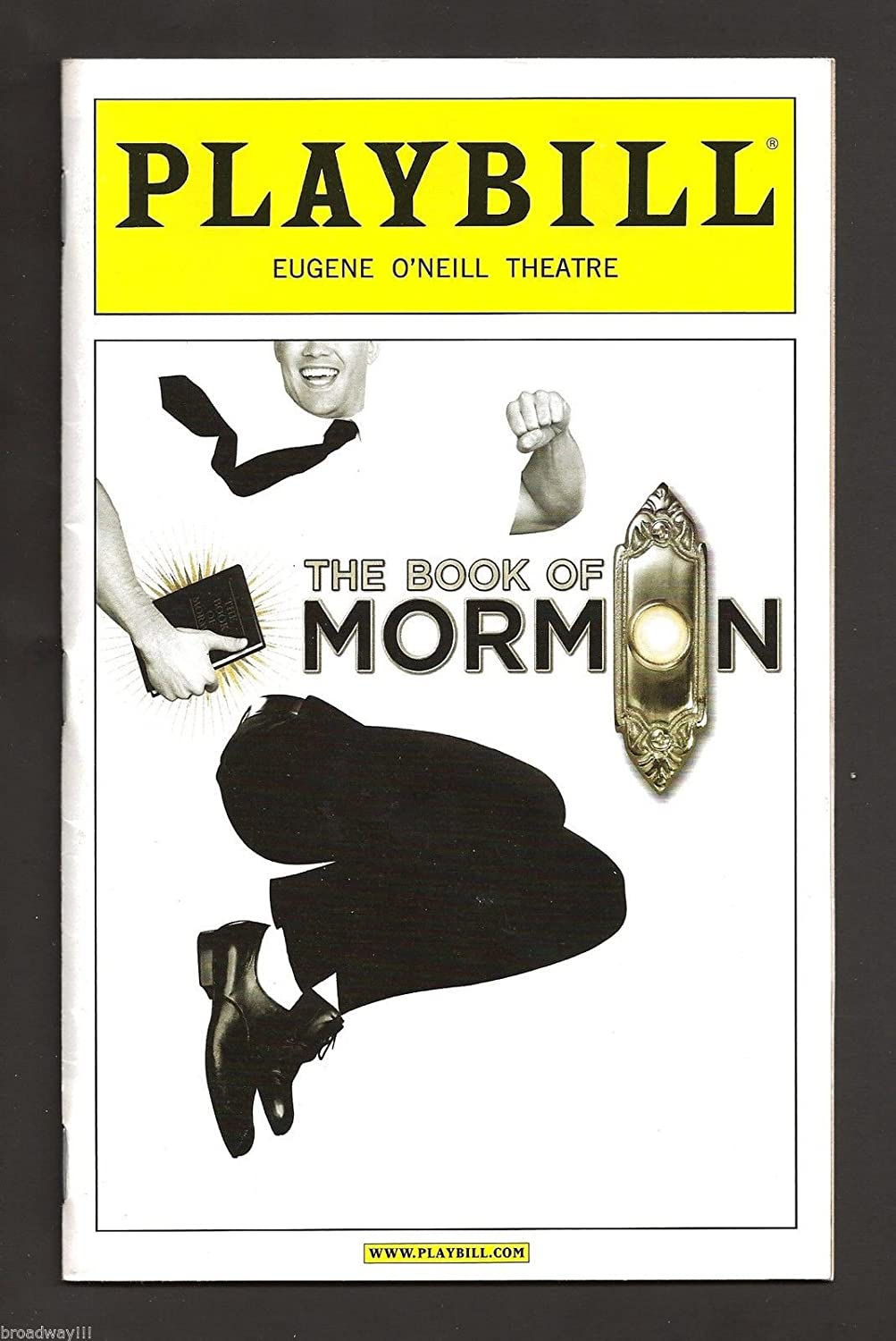 Andrew Rannells'THE BOOK OF MORMON' Nikki M. James/Josh Gad 2011 Broadway Playbill
