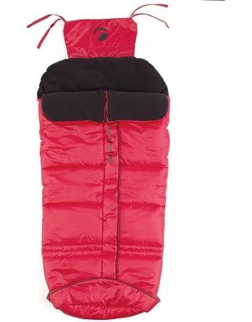 JANE Basic Rubin - Saco para silla de paseo, unisex, color rojo