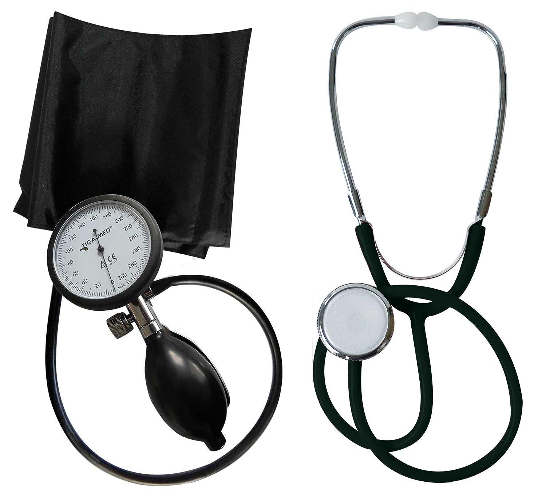 Tensiómetro electrónico de brazo profesional Tiga Pro 1 nuevo garantía K 1 + estetoscopio de cabeza plana Negro Tiga Med: Amazon.es: Salud y cuidado ...