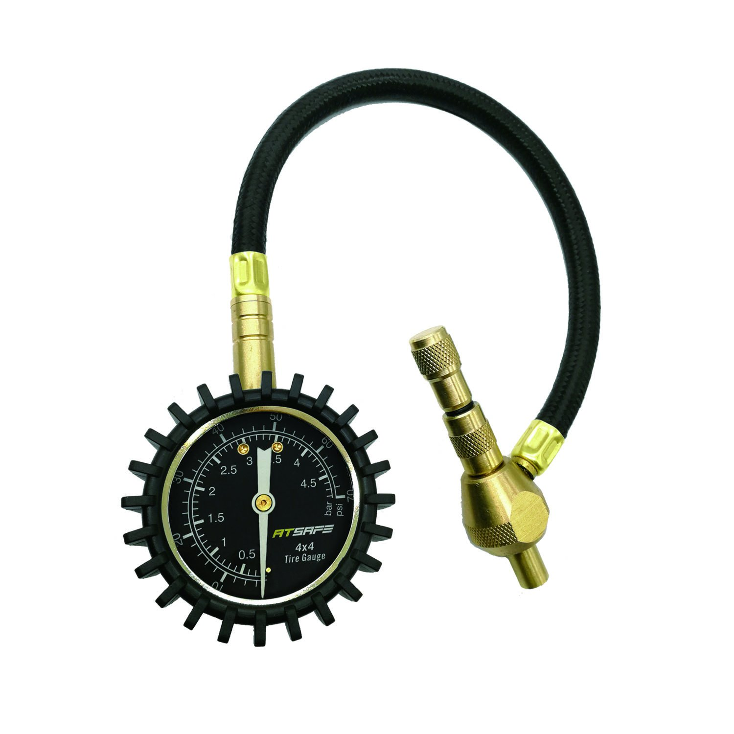 2 in 1 Professional Tire Deflator Pressure Gauge 75Psi with Special Chuck for 4X4 Large Offroad Tires Godeson 4333085858